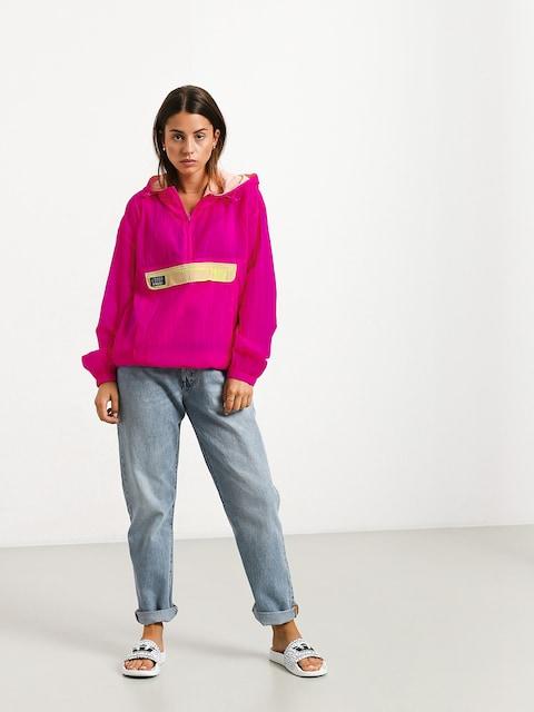 Bunda Stussy Aydin Nylon Crinkle Wmn (pink)
