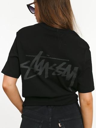 Tričko Stussy Stock Wmn (black)
