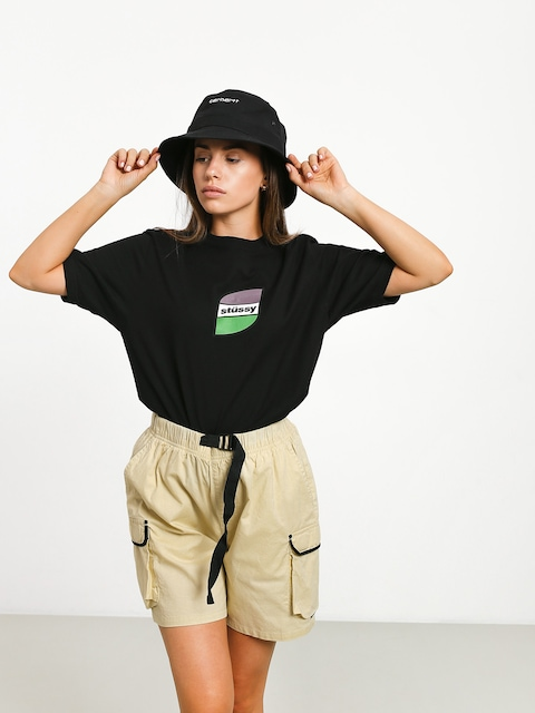 Tričko Stussy Stripes Wmn (black)
