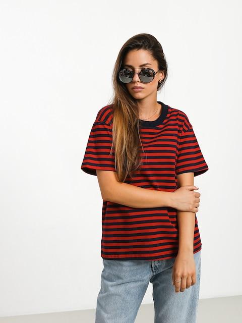 Tričko The Hive Stripe Wmn (navy/red)