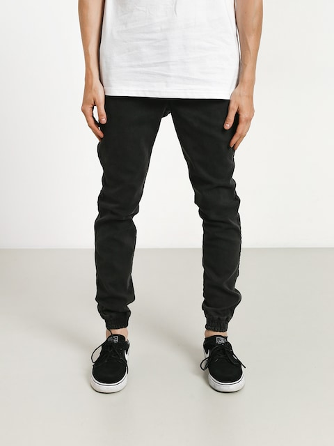 Nohavice Diamante Wear Rm Jeans Jogger (black marmur jeans)