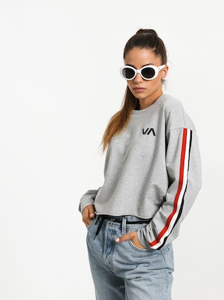 Mikina RVCA Ringside Sweatshirt (heather grey)