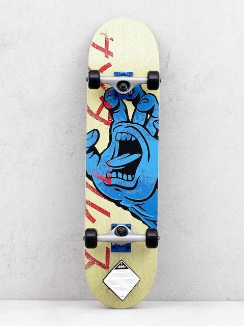 Skateboard Santa Cruz Hando Taper (sand/blue)