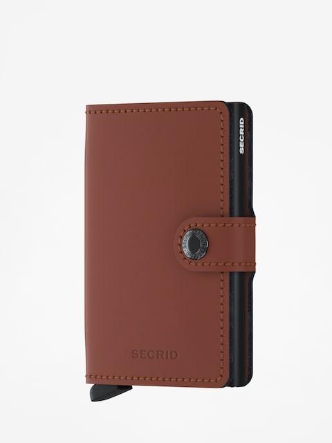 Peňaženka Secrid Miniwallet Matte (brick/black)