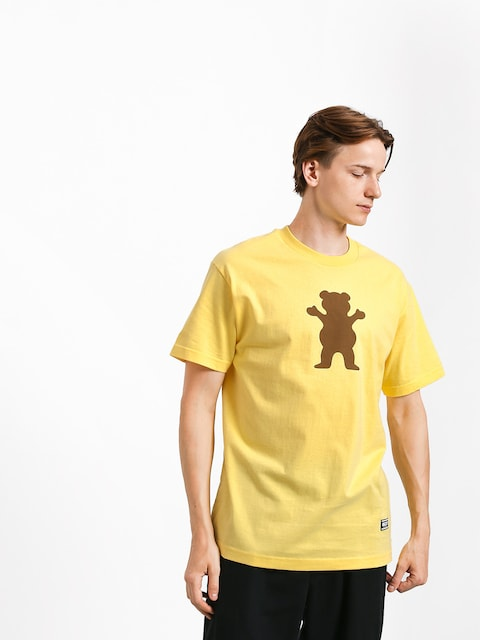 Tričko Grizzly Griptape Og Bear (banana)