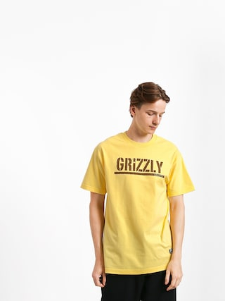 Triu010dko Grizzly Griptape Stamp (banana/brown)