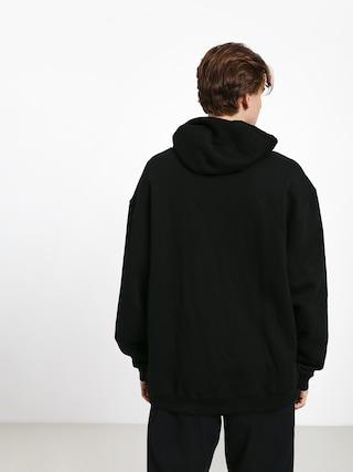 Mikina s kapucňou Grizzly Griptape Og Bear Embroidered HD (black/white)