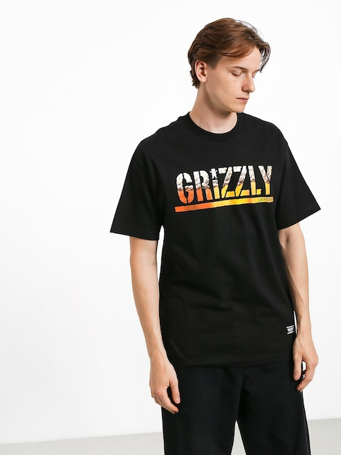 Tričko Grizzly Griptape Brew (black)