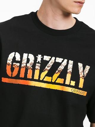 Tričko Grizzly Griptape Brew (black)