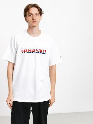 Tričko Tabasko Tag Split (white)