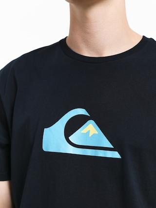 Tričko Quiksilver Comp Logo (sky captain)