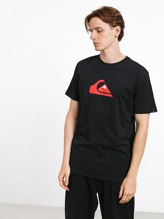 Tričko Quiksilver Comp Logo (black)