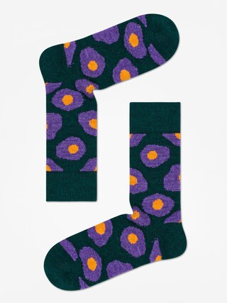 Ponou017eky Happy Socks Wool Sunny Side Up (dark green)