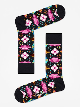 Ponožky Happy Socks Temple Blossom (black/multi)