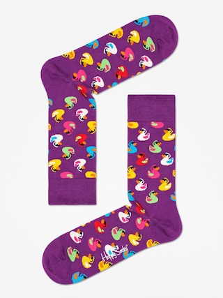 Ponou017eky Happy Socks Rubber Duck (purple)