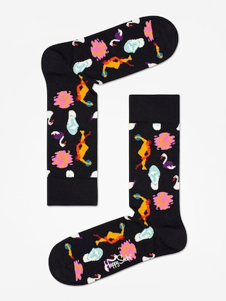 Ponou017eky Happy Socks Park (black)