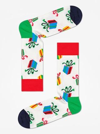 Ponožky Happy Socks Presents (white)