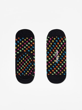 Ponožky Happy Socks Happy Liner (black)