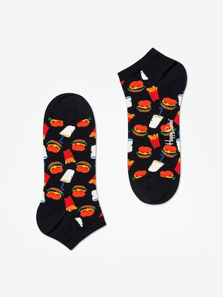 Ponožky Happy Socks Hamburger Low (black/multi)