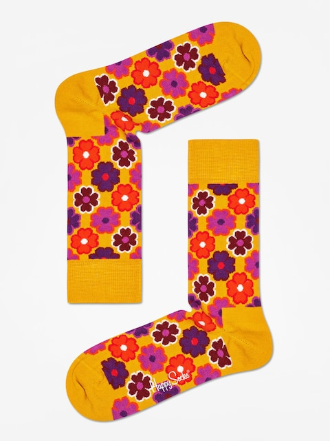 Ponožky Happy Socks Flower Power (mustard)