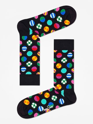 Ponožky Happy Socks Clashing Dot (black/multi)