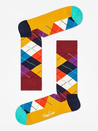 Ponožky Happy Socks Argyle (brown/gold/multi)