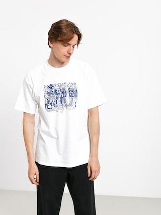 Tričko Polar Skate Tk (white)