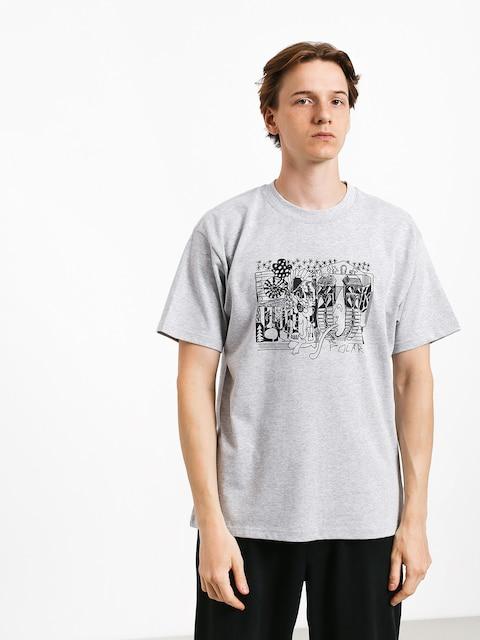 Tričko Polar Skate Tk (sport grey)