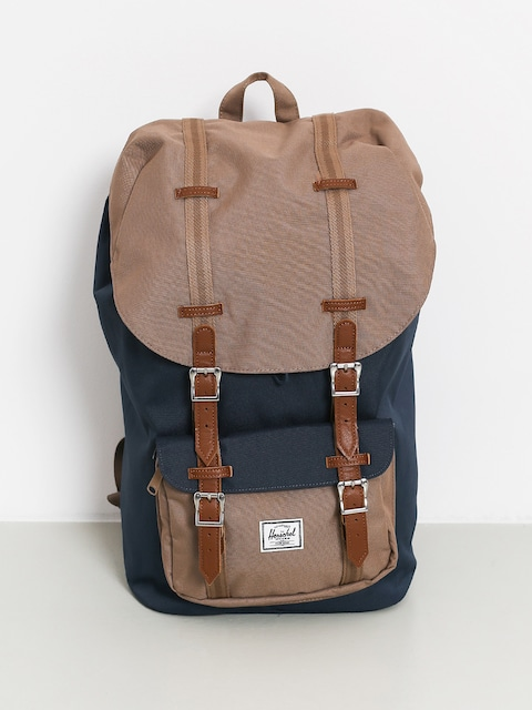 Batoh Herschel Supply Co. Little America (navy/pine bark/tan)