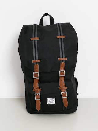 Batoh Herschel Supply Co. Little America (black/black/tan)