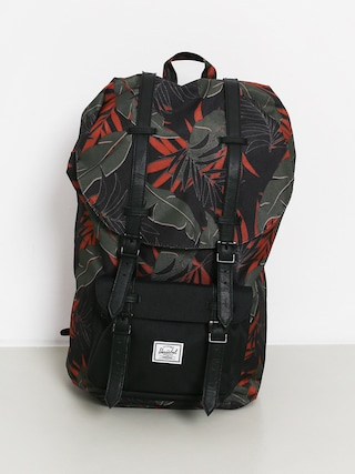 Batoh Herschel Supply Co. Little America (dark olive palm)