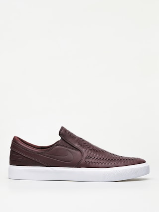 Topu00e1nky Nike SB Zoom Janoski Slip Rm Crafted (mahogany/mahogany white gum light brown)