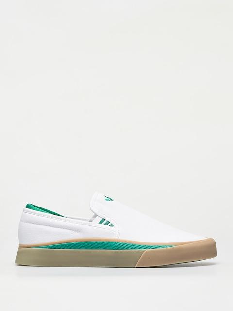 Topánky adidas Sabalo Slip (ftwr white/bold green/gum4)