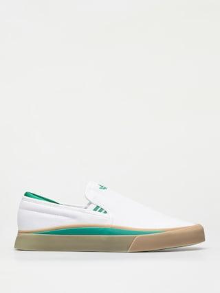 Topu00e1nky adidas Sabalo Slip (ftwr white/bold green/gum4)