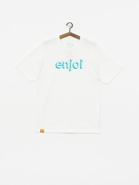 Tričko Enjoi Helvetica Neue