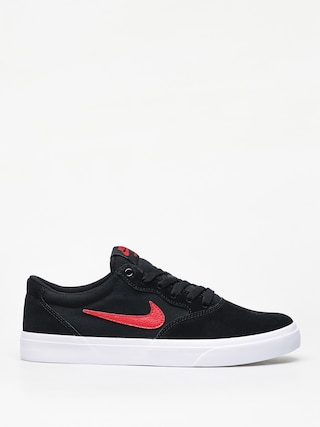 Topu00e1nky Nike SB Chron Slr (black/university red)