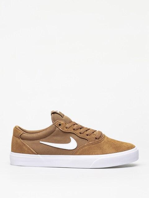 Topánky Nike SB Chron Slr (golden beige/white golden beige black)