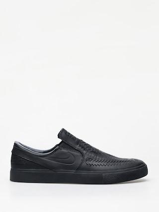 Topu00e1nky Nike SB Zoom Janoski Slip Rm Crafted (black/black black black)