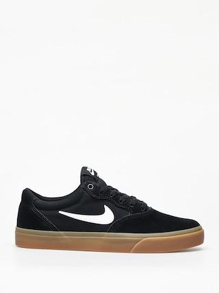 Topu00e1nky Nike SB Chron Slr (black/white black black)