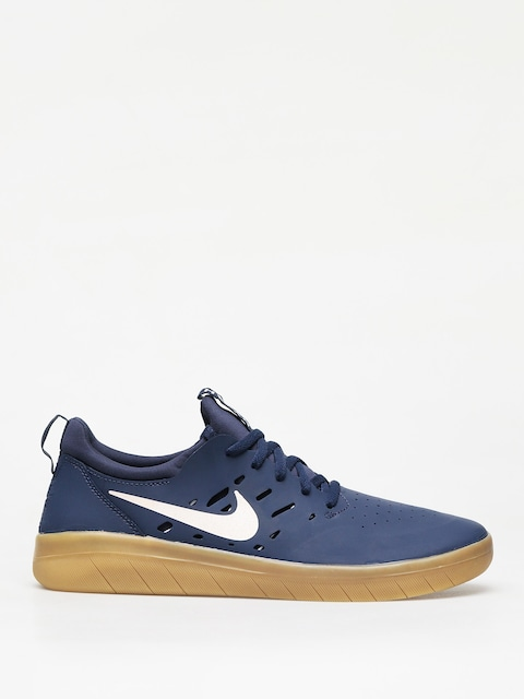Topánky Nike SB Nyjah Free (midnight navy/summit white midnight navy)