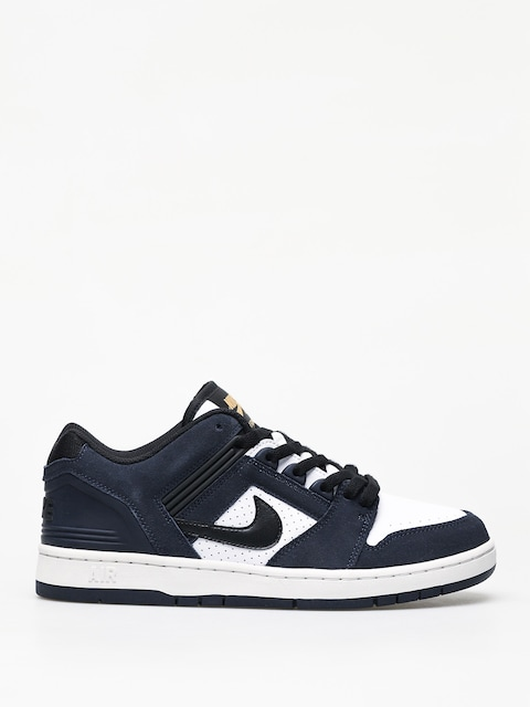 Topánky Nike SB Air Force II Low (obsidian/black white celestial gold)
