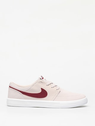 Topánky Nike SB Solarsoft Portmore II (desert sand/team red summit white black)