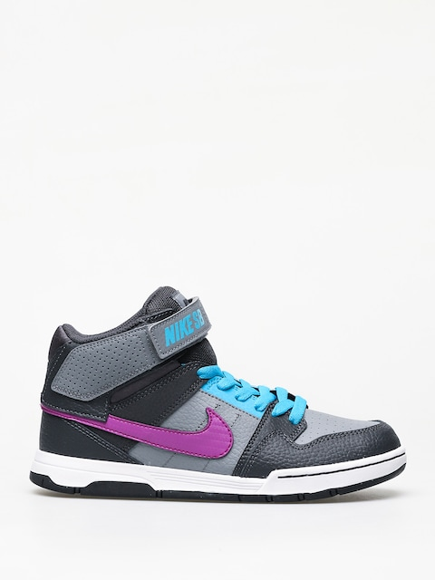 Topánky Nike SB Mogan Mid 2 Jr Gs (cool grey/vivid purple blue lagoon)