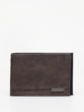 Peňaženka Quiksilver Stitchy Vi (chocolate brown)