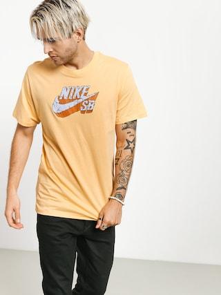 Tričko Nike SB Logo Concrete (celestial gold)