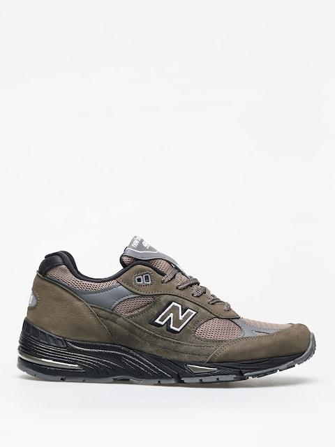 Topánky New Balance 991 (khaki)