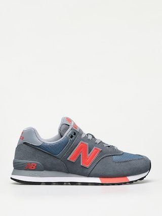 Topu00e1nky New Balance 574 (grey/blue)