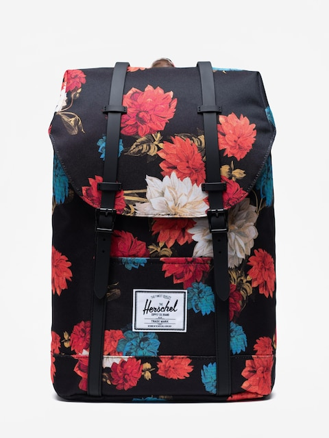 Batoh Herschel Supply Co. Retreat (vintage floral black)