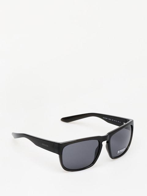 Slnečné okuliare Dragon Rune XL (black crystal/smoke)