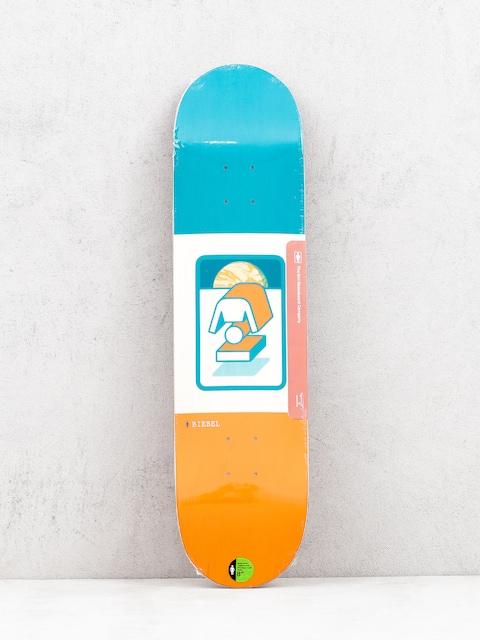 Doska Girl Skateboard Biebel The Totem (orange/teal)